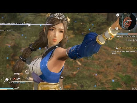 Dynasty Warriors 9 - Cai Wenji - Open World Free Roam Gameplay (PS4 HD) [1080p60FPS]