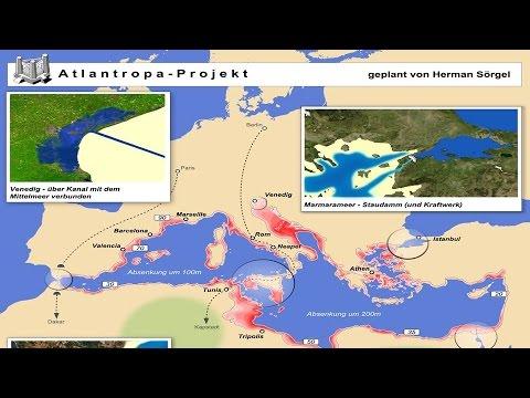 Atlantropa a new continent