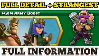 7th Anniversary Upcoming Events 1-Gam Army Boost Full Information in Clash of Clans
