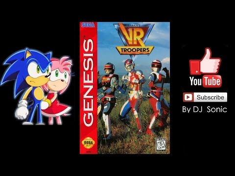VR Troopers [1995] (Sega) Walkthrough [Not Death]