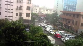 Heavy rain, BD-Dhaka. 27-August-2012