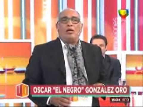 """El Negro Oro se despidió de """"Los unos y los otros"""" muy conmovido"""