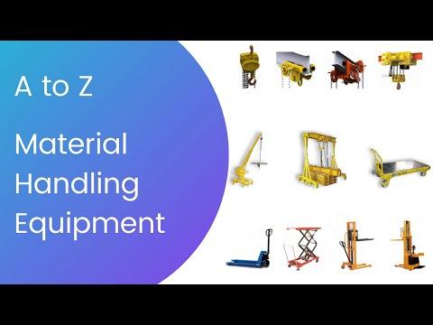 Material Handling Equipment for offshore plant