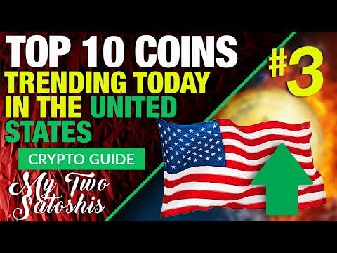 Crypto News: Top 10 Trending Cryptos In The USA! – #3