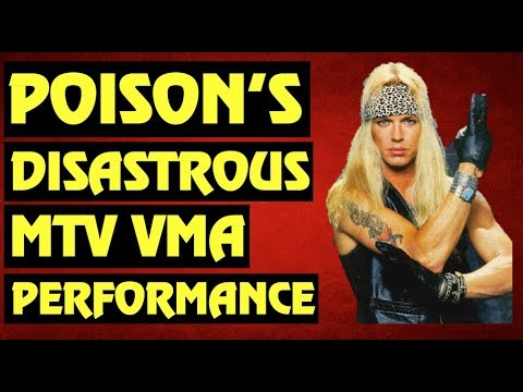 Download Poison: The Band's Disastrous 1991 MTV VMA Performance