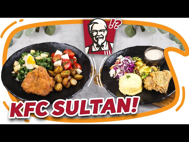 KFC sultan, makan KFC abis sejuta fams...