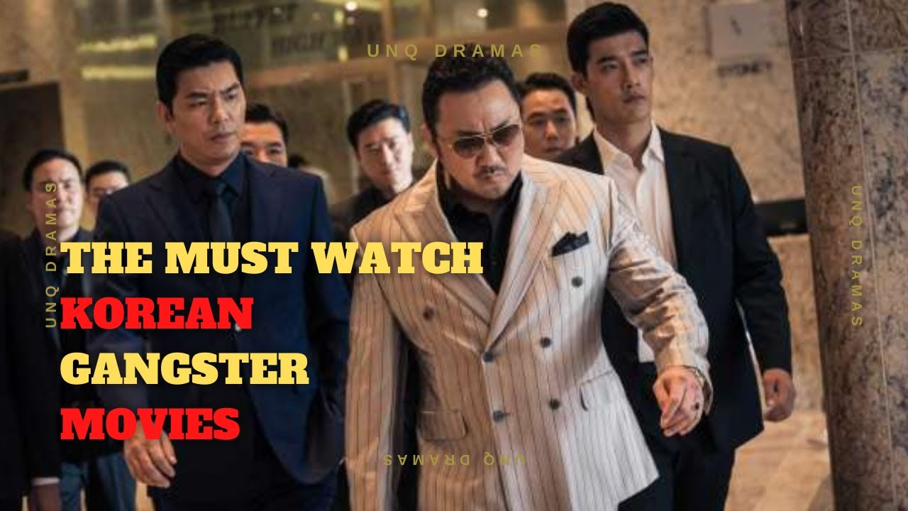 Download THE 10 MUST WATCH KOREAN GANGSTER MOVIES| UnqDramas [ENG SUB] [1080P HD]