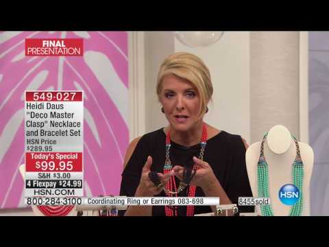 HSN | Heidi Daus Jewelry Designs 05.16.2017 - 09 PM