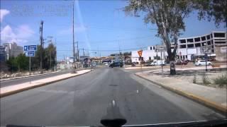 Греция в видеорегистраторе: Аэропорт Афины - Лефканди(Музыка