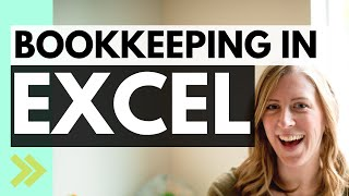Small business TAX PREP 2019 bookkeeping (simple method using Excel!)