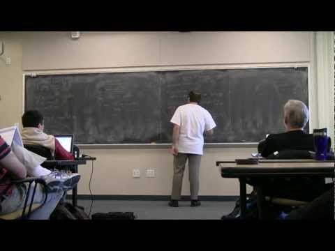 Xavier Caruso: Explicit p-Adic Hodge Theory (at Sage Days 36) -- part 1 of 2