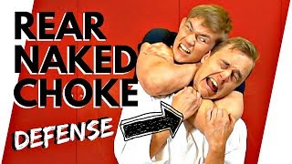 HOW TO ESCAPE THE REAR NAKED CHOKE | MMA vs. Karate