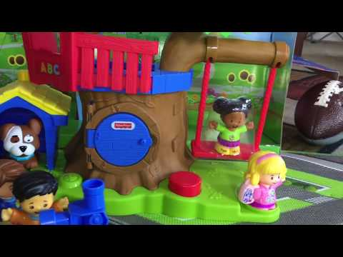 Fisher Price Treehouse & Swing Set Toddler REACTION & REVIEW