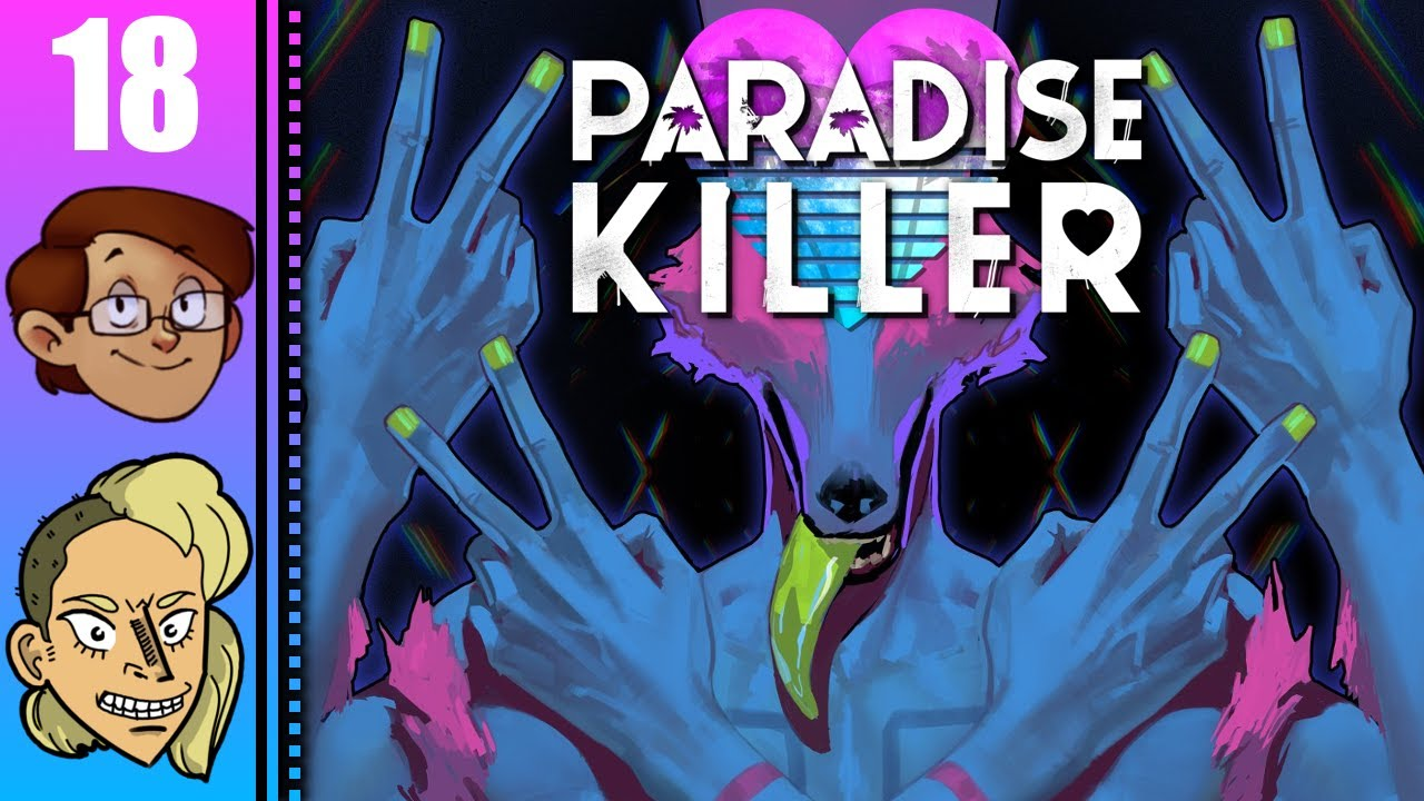 Let's Play Paradise Killer Part 18 - The Murder of Grace Bloodlines