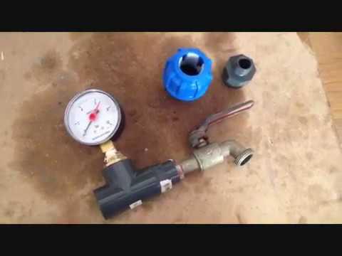 Come Calcolare La Pressione Dell Acqua Del Rubinetto.Come Misurare La Pressione Dell Acqua Youtube