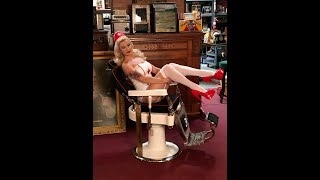 Barber Chair restoration by Mantiques Network