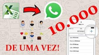 IMPORTANDO 10 000 CONTATOS PARA O CELULAR/WHATSAPP [EXCEL TO ANDROID]