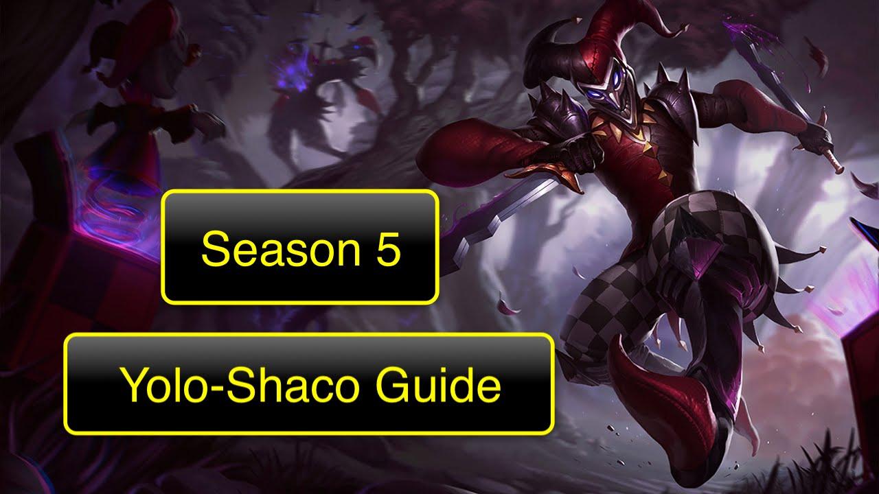 Shaco Build S7: SHACO Guide YOLO-Jungle Season 5 (German)