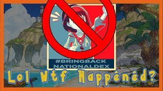 What happened to BringBackTheNationalDex?