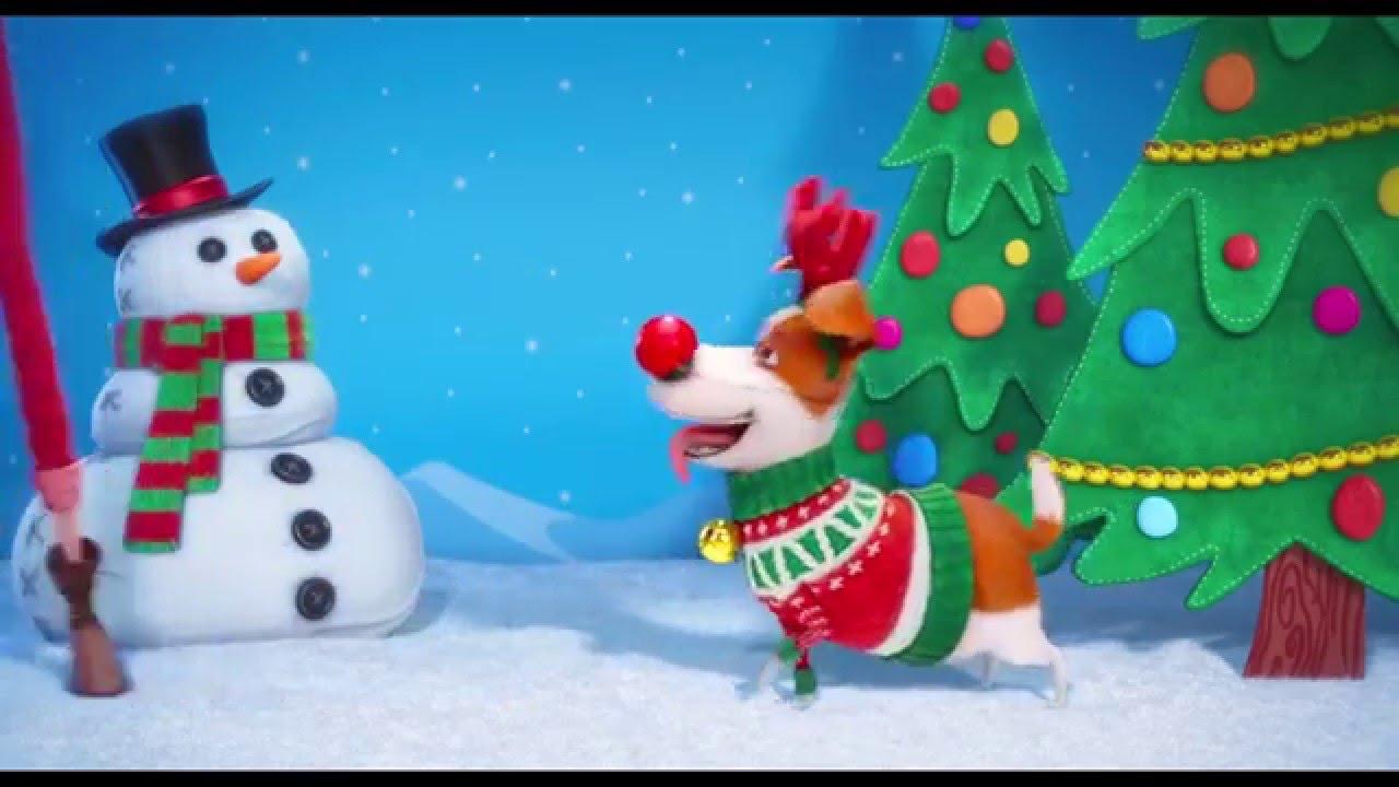 La Vida Secreta De Tus Mascotas Navidad Cineplanet YouTube