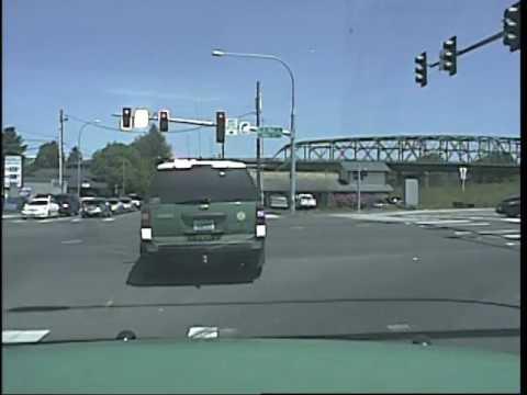 Cowlitz Sheriff Deputy being struck on 6-5-17