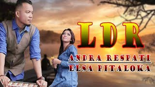 Download lagu LDR  -  Andra Respati Feat.  Elsa Pitalokan (Lyrics)