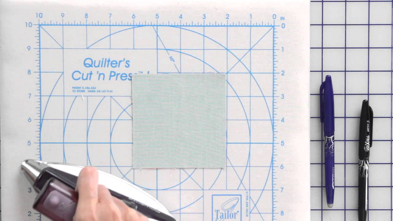How To Use The Frixion Ball Gel Pen By Pilot For Quilting