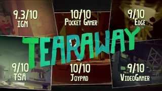 "Tearaway ""A beautiful, brilliant game"""