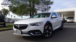 2018 Buick Regal TourX 2.0 L Turbocharged 4-Cylinder Review