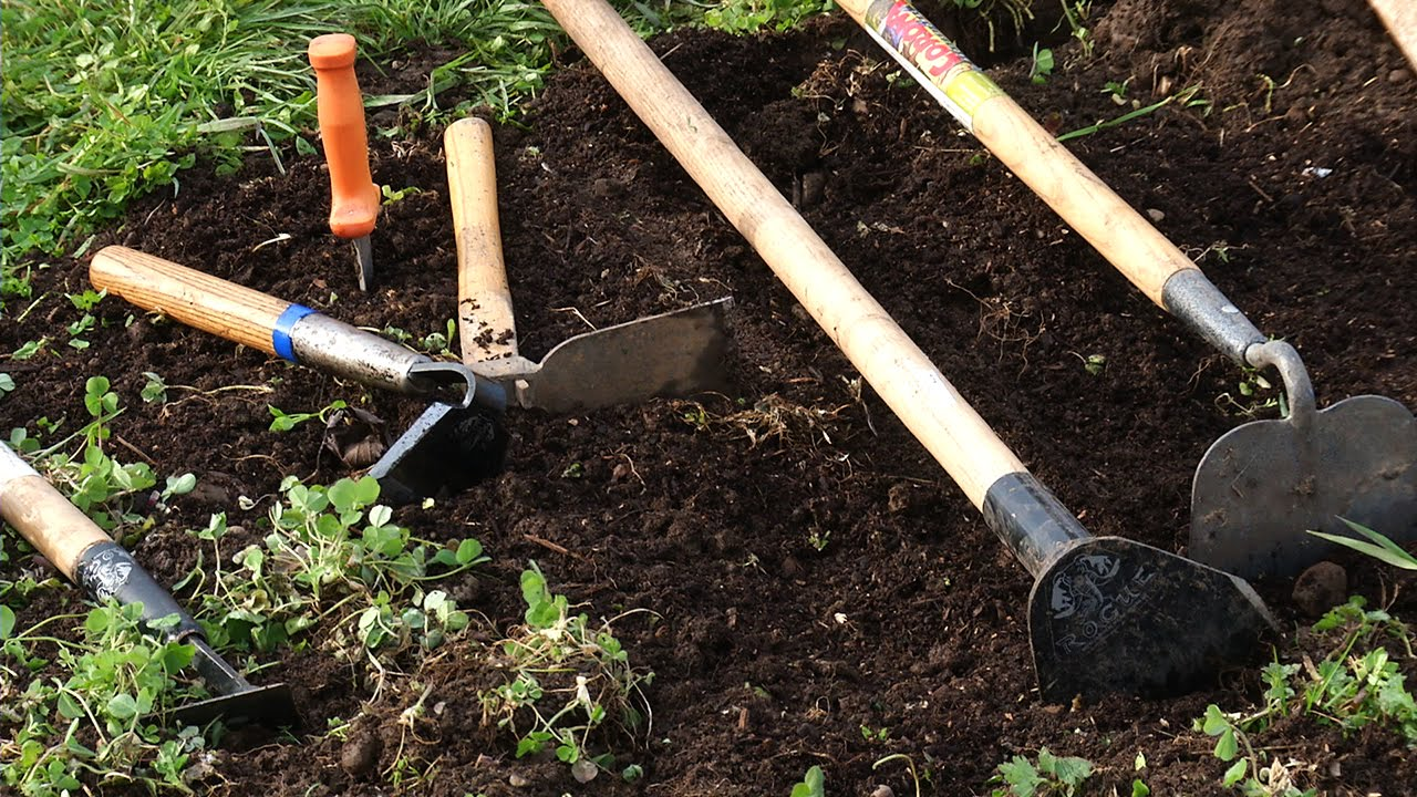 Choosing The Right Garden Tools For Your Vegetable Garden   YouTube
