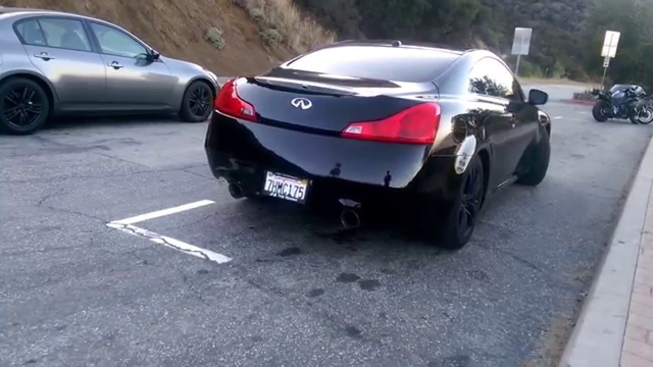 G37 Coupe Top Speed Pro 1 Axleback (Take off and Fly by)