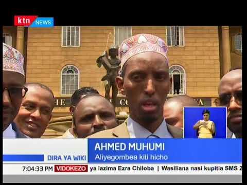 Gavana wa Wajir Mohammed Abdi ang'atuliwa kwa kiti cha gavana