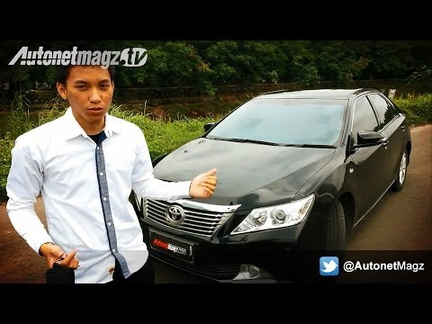 [PART 1] Review Toyota Camry G 2.5 AT Indonesia Test Drive by AutonetMagz
