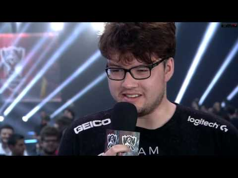 Emotional Interview with Dyrus - Championship group phase [10-10-2015]
