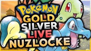 Pokémon Gold & Silver 3ds Vc Live Nuzlocke Challenge! W/ Hdvee