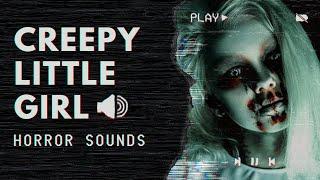 CREEPY LITTLE GIRL TALKING, SINGING, LAUGHING, HUMMING (FREE SFX)