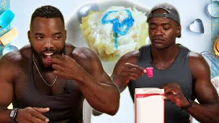 Athletes Try Tiny Baking