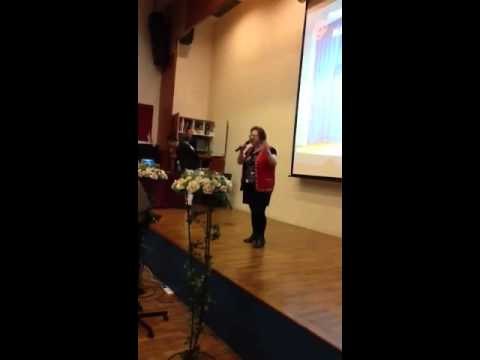 Karaoke student performance