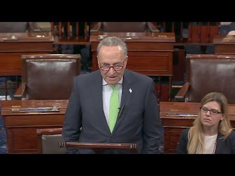 Senate Democrats protest GOP health care bill