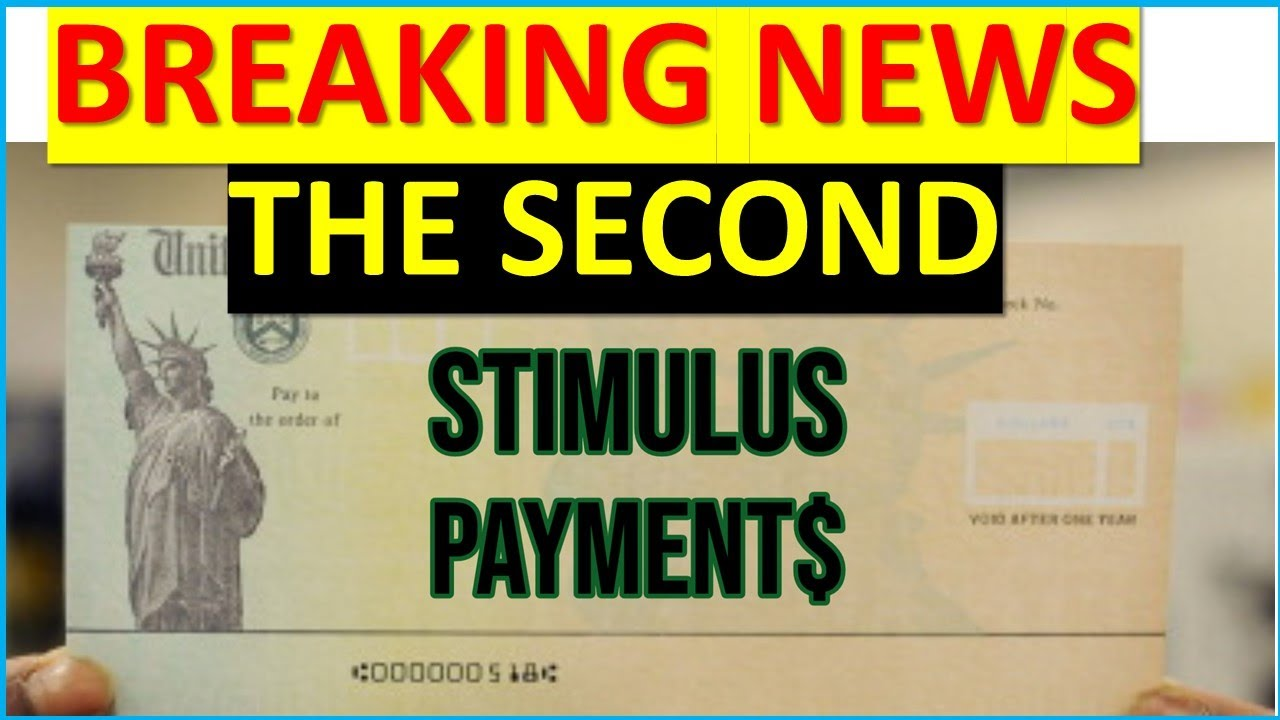 BREAKING NEWS: SECOND STIMULUS CHECK IS CONFIRMED, AND WILL BE LARGER THAN $1,200 BY END OF JULY