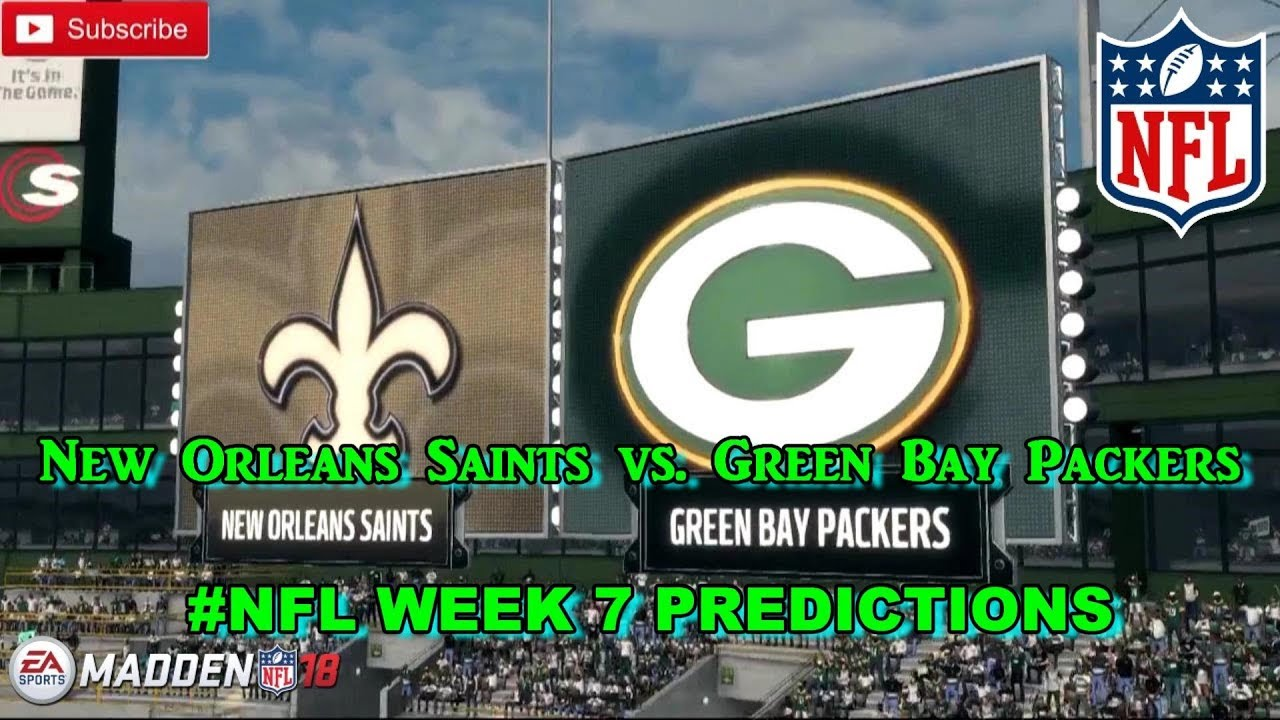 Packers and Saints tied at 27 after three