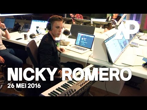 Nicky Romero creates a track live on-air! | De Avondploeg
