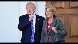Teacher is Horrified by Lunatic Trump Education Secy Betsy DeVos