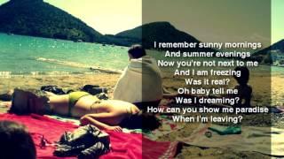 Simple Plan - Summer Paradise (Feat. K'naan) - Onscreen Lyrics