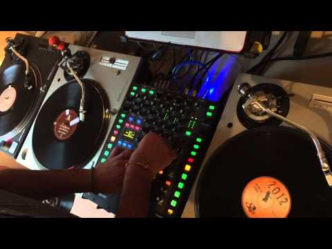 DJ Shorty ALL VINYL 3 Deck DnB/Jungle Mashup!