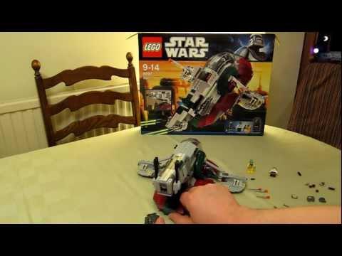 lego-star-wars-slave-i---2010-edition-8097---boba-fett,-bossk,-han-solo,-carbonite---review