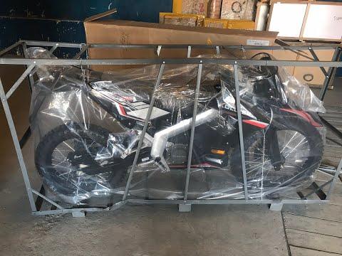 Отправляем в Москву эндуро электромотоцикл Kollter/Tinbot ES1. Комплект колес для кросса и шоссе.
