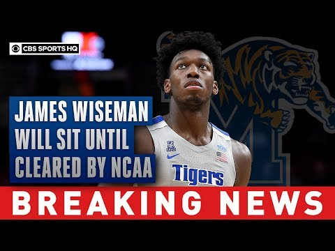 James Wiseman drops lawsuit against the NCAA, will sit until eligibility restored  CBS Sports HQ