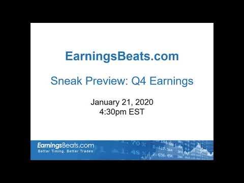 Sneak Preview: Q4 Earnings