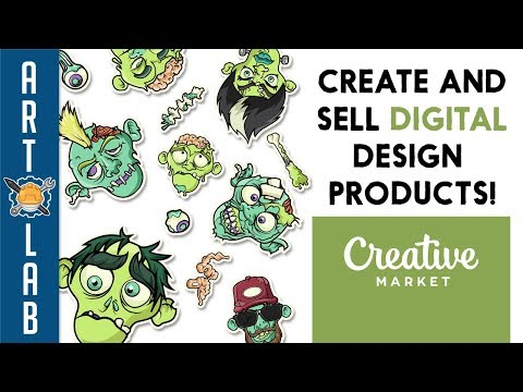 Create And Sell Digital Products On Creative Market!